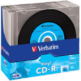 Verbatim  CDR 48X VINYL DATA 10PK SLIM