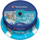Verbatim  CD-R AZO 700MB 52X WIDE PRINTABLE SURFACE ID BRANDED