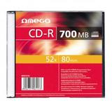 OMEGA OMEGA CD-R 700MB 52X SLIM CASE*1 [56113]