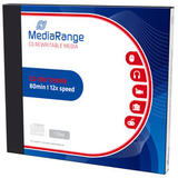 MediaRange CD-RW 700MB|80min 12x speed, rewritable, single Jewel