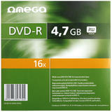 Omega  DVD+R 4.7GB 16XSLIM CASE 10