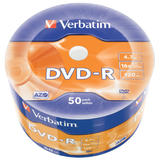 Verbatim DVD-R AZO 4.7GB 16X  DL+ WIDE PRINTABLE SURFACE NON-ID