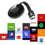 ChromeCast 2.0 HDMI Streaming, negru