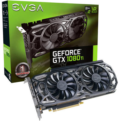 Placa Video EVGA GeForce GTX 1080 Ti SC Black Edition GAMING, 11GB GDDR5X, 352 bit