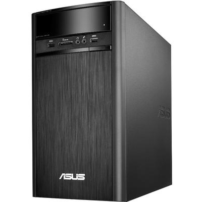 Sistem desktop Asus K31CD, Procesor Intel® Core™ i5-7400 3.0GHz Kaby Lake, 4GB DDR4, 256GB SSD, GMA HD 630, FreeDos