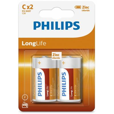 Philips PH LONGLIFE C 2-BLISTER