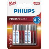 PH POWER ALKALINE AA 4+2-BLISTER PROMO