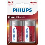 Philips PH POWER ALKALINE D 2-BLISTER