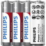 Philips PH POWER ALKALINE AAA 4-FOIL W/ STICKER