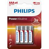 Philips PH POWER ALKALINE AAA 4-BLISTER