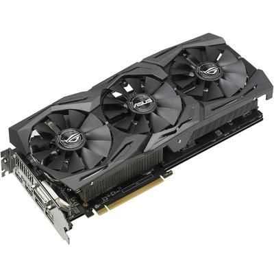 Placa Video Asus Radeon RX 580 STRIX GAMING O8G 8GB DDR5 256-bit