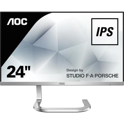 Monitor AOC PDS241 23.8 inch 4 ms Silver