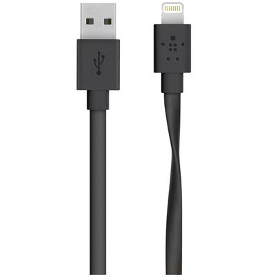 BELKIN MIXIT UP, Fat cable, USB Male la Lightning Male, 1.2 m, Black