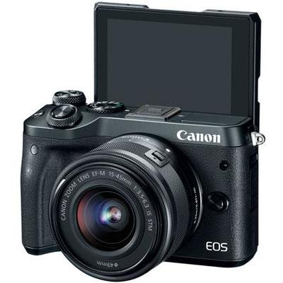 Aparat foto DSLR PHOTO CAMERA CANON EOS M6 EF-M 15-45MM
