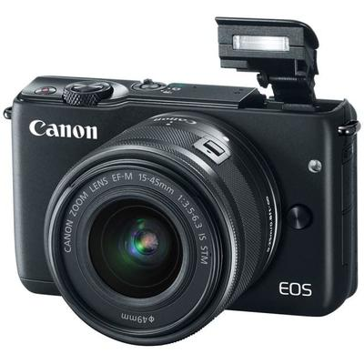 Aparat foto DSLR PHOTO CAMERA CANON EOS M10 15-45MM BK