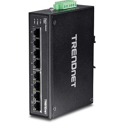 Switch TRENDnet TD 8-PORT GIGABIT DIN-RAIL SWITCH TI-G80