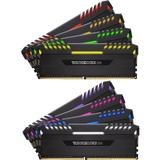 Vengeance RGB LED 64GB DDR4 3000MHz CL15 Quad Channel Kit