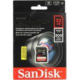 Sandisk Extreme PRO SDHC 32GB - 300MB/s UHS-II