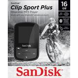 Mp3 Player Sandisk MP3 16GB CLIP SPORT PLUS - black