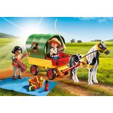 Jucarie PLAYMOBIL Picnic with Pony Wagon