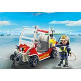 Jucarie PLAYMOBIL Fire Quad