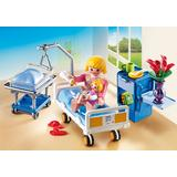 Jucarie PLAYMOBIL Sick room with baby crib