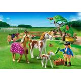Jucarie PLAYMOBIL Paddock with Horses and Foal