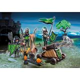Jucarie PLAYMOBIL Wolf Knights with Catapult
