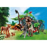 Jucarie PLAYMOBIL Lynx Family with Cameraman