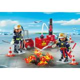 Jucarie PLAYMOBIL Firefighting Operation with Water Pump