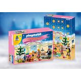 Jucarie PLAYMOBIL Advent Calendar 'Christmas Room' with Illuminating Tree