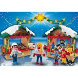 Jucarie PLAYMOBIL At the christmas market