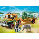 Jucarie PLAYMOBIL Ranger's Truck with Elephant