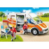 Jucarie PLAYMOBIL Ambulance with light and sound