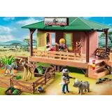 Jucarie PLAYMOBIL Ranger Station with Animal Area