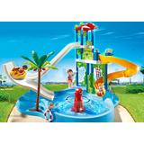 Jucarie PLAYMOBIL Water Park with Slides
