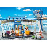 Jucarie PLAYMOBIL Airport with Control Tower