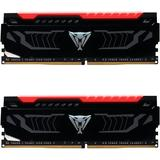 Viper LED Red 16GB DDR4 2400MHz CL14 Dual Channel Kit