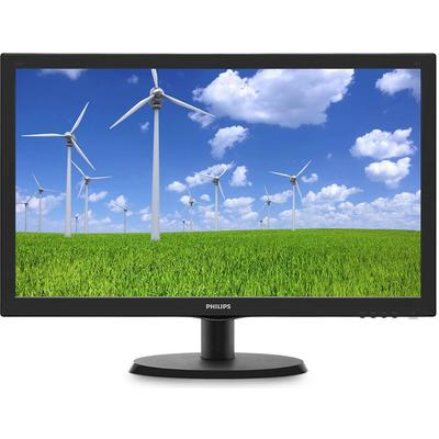 Monitor Philips 223S5LSB/00 21.5 inch 5 ms Black