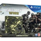 Playstation 4 Slim 1TB + Call of Duty WW2 Green Camouflage Limited Edition