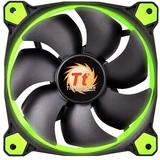 Thermaltake Riing 12 High Static Pressure 120mm Green LED 3 Fan Pack