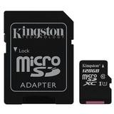 Card de Memorie Kingston Canvas Select microSDXC 128GB + Adaptor SD