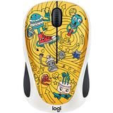 Mouse LOGITECH M238 - Doodle Collection - GO-GO GOLD