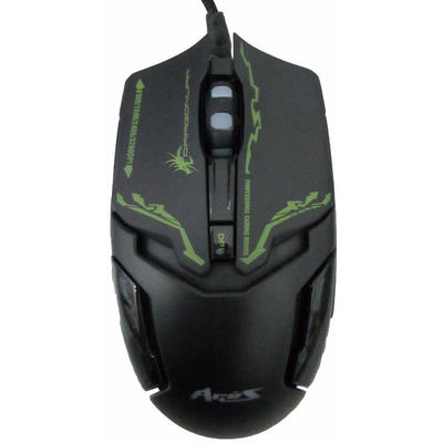 Mouse Dragon War Ares Black