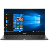 13.3'' New XPS 13 (9370), UHD InfinityEdge Touch, Procesor Intel Core i7-8550U (8M Cache, up to 4.00 GHz), 16GB, 512GB SSD, GMA UHD 620, FingerPrint Reader, Win 10 Pro, Silver, 3Yr NBD