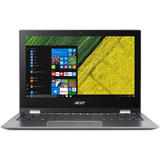 """11.6"""" Spin 1 SP111-32N, FHD IPS Touch, Procesor Intel Celeron N3350 (2M Cache, up to 2.4 GHz), 4GB, 64GB eMMC, GMA HD 500, Win 10 S, Grey"""