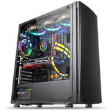 Carcasa Thermaltake Versa H27 Tempered Glass Black