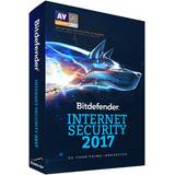 Internet Security 2017, 3 PC, 1 an, New License, Electronic