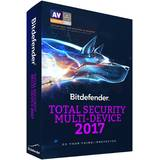 Total Security Multi-Device 2017, 10 device-uri, 2 ani, New License, Electronic