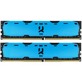 IRDM Blue 8GB DDR4 2400MHz CL15 1.2v Dual Channel